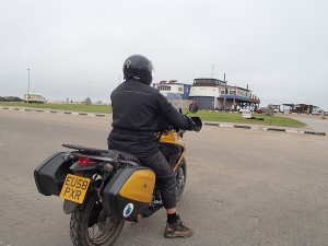 Clive and The Tugboat restaurant in Swakopmund