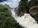 Murchisson falls from the top., Uganda