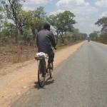 Man on bicycle, Tanzania