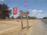 Old british railway sign,Tanzania