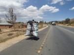 Charcoal carrying , Tanzania