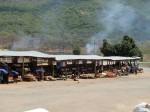 Market stalls, Tanzania
