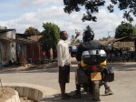 Trying to get out of Morogoro, Tanzania, we had to do some asking...