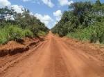 Our road through Murchisson National park, Uganda