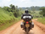 Check out the vegetation and the road, Uganda