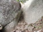 The ancient path betwen the rocks to yet more Great Zimbabwe city on top of the hill.Zimbabwe