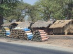 This time its Malawi charcoal bags as we head for the Mozambique border. So depressing. Malawi