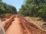 Our dirt road, western Tanzania.....sun shining!