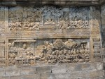 It has carvings all over it. This is a mere panel. It all tells a story..