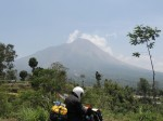 Volcano Merapi. The most active in south east asia.