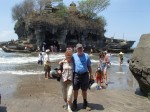 Clive and Nina at Tanar Lot