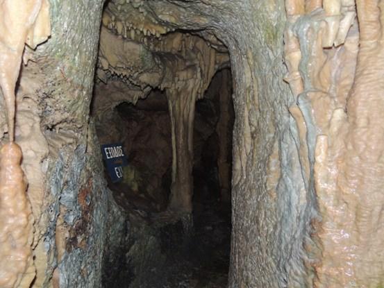 Deep underground!