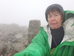 Nina at top of Scafell