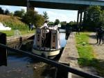 Lock near Wigan