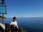 Nina by Lake Baikal, Russia