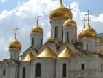 Church at the Kremlin, Moscow.