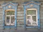 Old wooden house in Irkutsk
