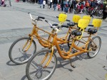 Bicycle made for 5 in Ulan Batar