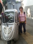 Love this little electric car...want one!. Beijing