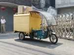 Another electric  tri wheeler. Beijing