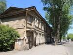 Wooden house in Irkutsk