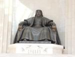 Big statue of Ghingis Khan, Ulan Batar.