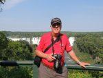 Clive at Iguacu Falls