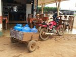 Bike with cart