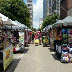 Street market in Manaus