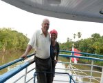 Clive and Nina on the Cisne Brancho