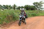 Nina on her bike