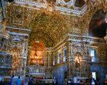 Inside Sao Francisco church, Salvador