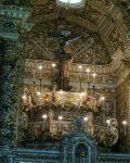 Sao Francisco Church, high above the altar, Salvador