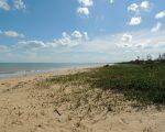 Lovely beach at Nova Vicosa