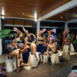 We had an evening of dance at the hotel. Great noise and great dancers. Raratonga