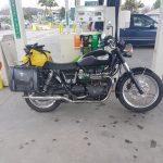 My two wheels in New Zealand courtesy of Julian
