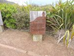 Information sign at Cape Reinga