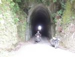 Clive and the tunnel off the Forgotten world highway.